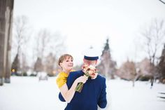 PHOTOS: A Stunning Oregon Wedding With Unexpected Snow