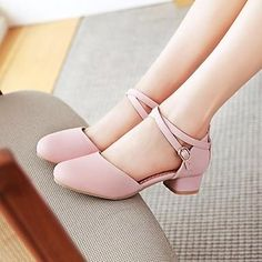 3ce68fcca311 Girls  Shoes PU(Polyurethane) Spring   Fall Flower Girl Shoes   Tiny Heels  for Teens Heels for White   Beige   Pink