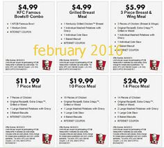 Printable Coupons: Kfc Coupons uploaded by jessabellefloyd Mcdonalds Coupons, Kfc Coupons, Grocery Coupons, Great Clips Coupons, Love Coupons, Kfc Printable Coupons, Free Printables, Golden Corral Coupons, Coupons For Boyfriend