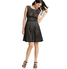 Dress Rehearsal?    Flower Eyelet Cotton Dress