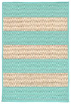 Terrace 1789/93 Rugby Turquoise Rug