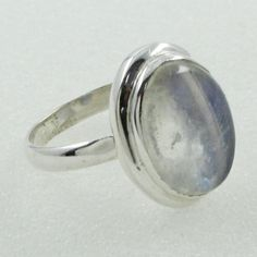 RAINBOW MOON STONE PLEASING DESIGN 925 STERLING SILVER RING #SilvexImagesIndiaPvtLtd #Statement