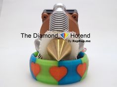 An affordable 3D printer single nozzle hotend that provides a faster, easier and more precise method of color 3D printing