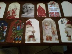 recycled old xmas cards