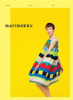 Marimekko summer 2013 lookbook by Mikko Ryhänen, via Behance