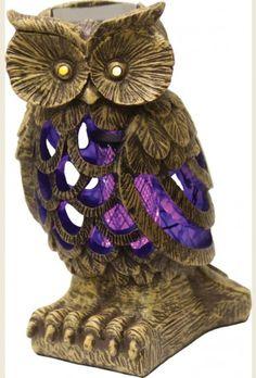 Owl Solar Powered Bug Killer