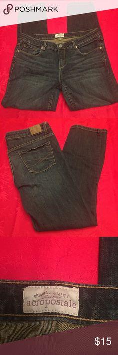 "Aeropostale Jeans Ashley Ultra Skinny SZ 11/12 Sht Aeropostale Jeans Ladies Woman's Ashley Ultra Skinny Denim SZ 11/12 Short  28"" inseam  #jeans3 Aeropostale Jeans Skinny"