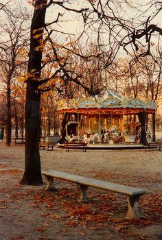 Carousel, Paris, France