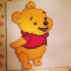 Baby Winnie the Pooh hama perler by bywith