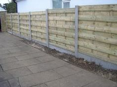 A cheap alternative is the pallet fence. You can go as high as you want doing it horizontally. You just need posts for where the pallets end. Paint and no one will tell you got a virtually free fence! Backyard Projects, Outdoor Projects, Garden Projects, Home Projects, Pallet Fence, Diy Fence, Fence Ideas, Pallet Planters, Pallet Crafts