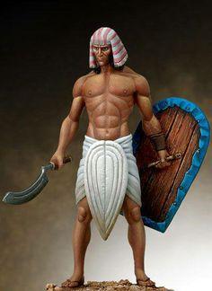 Egyptian Warrior(10th Century BC)
