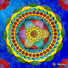 Mandala Art, Zentangle, Tapestry, Colorful, Wallpaper, Phone, Creative, Painting, Ideas