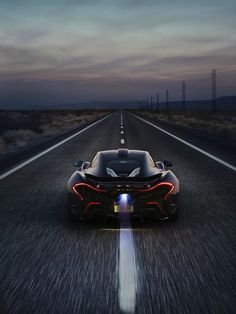 McLaren P1 ¶ Have to say I'm coming around to the P1...
