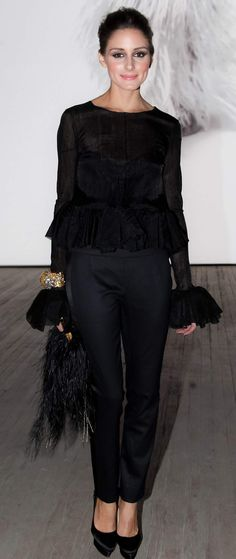 New York Fashion Week AW12: Celebrity Style Round-Up