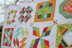 Summer Sampler quilt | Flickr - Photo Sharing!