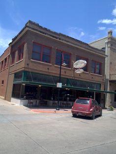 Cypress Street Cafe in Downtown Abilene Texas