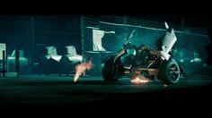Las transformación de Sideswipe en #Transformers 2