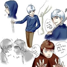 Jack Frost scribbles by ~OCTISquad on deviantART