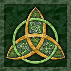 Triquetra - symbol of the three Goddesses in one.