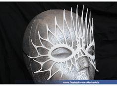 3D printed Halloween Party Mask 'FireFlight'