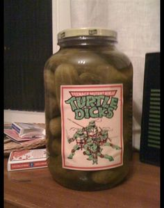 Turtle Dicks ...I just died.
