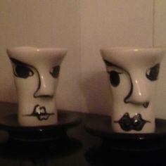 Head cups.