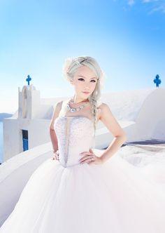 Xiaxue.blogspot.com - Everyone's reading it.: Sunrise Greece - Wedding Photoshoot