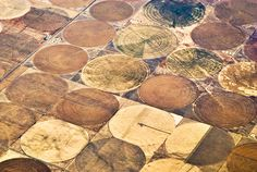 Agricultural fields, circular for mechanized management. (12/16/2013)  Nature: Aerial Views  (Thanks, BSD.)  (CTS)