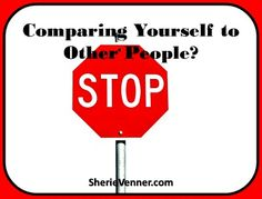 Comparing Yourself to Others - Everything comes to respect yourself being who you really are.