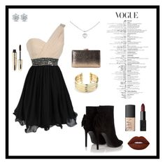 """""""Untitled #296"""" by sarahhyland221 ❤ liked on Polyvore featuring Yves Saint Laurent, Belk Silverworks, Cartier, NARS Cosmetics, Lime Crime and L'Oréal Paris"""