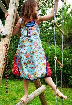 Mallofaktur: Rosalie, pattern by farbenmix.de, #sewing #dress #nähen #handmade #diy #patterns