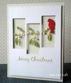 Sue& Card Craft: CAS Christmas GD – christmas dekoration The post Sue& Card Craft: CAS Christmas GD appeared first on Dekoration. Homemade Christmas Cards, Christmas Cards To Make, Noel Christmas, Homemade Cards, Holiday Cards, Christmas Projects, Christmas Cactus, Christmas Card Designs, Stampinup Christmas Cards