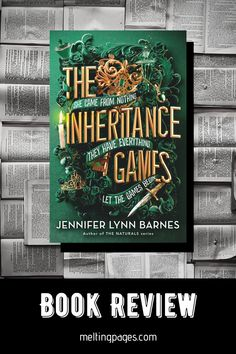What would happen if you were suddenly named the only benefactor of a billionaires will? That's how Avery's story starts in The Inheritance Games, a fast paced and puzzle filled YA mystery for fans of Truly Devious and One of Us is Lying! Book Stuff, Book Reviews, Love Book, Writing A Book, Suddenly, Book Lovers, Mystery, Puzzle, Fans
