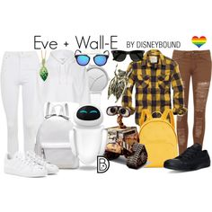 Disney Bound - Eve + Wall-E