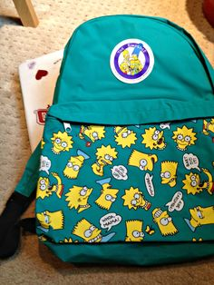 simpsons backpack