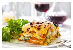 Get your whole serving of vegetables for the day in one dish, low fat and easy to do - Lentil and Pumpkin Lasagna will be a favourite in your house!