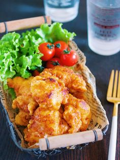 もも肉には戻れない!?ふわふわジューシー♪『昔懐かし♡本気のから揚げ』|LIMIA (リミア) Side Dish Recipes, Asian Recipes, Healthy Recipes, Ethnic Recipes, Cute Food, Good Food, Yummy Food, Lemon Butter Chicken, Korean Food