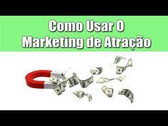 Como usar o #marketing de #atração? Melhor é fazer os seus #clientes virem até você por vontade própria do que ficar correndo atras deles.
