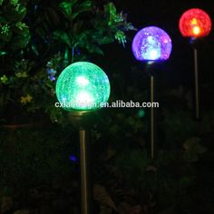 Outdoor Colour Changing Garden Lights