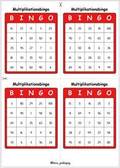 Free Teaching Resources, Easter Baskets, Bingo, Numbers, Math, Multiplication, Math Resources