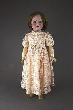 23-KESTNER-168-BISQUE-HEAD-GIRL-MOHAIR-WIG-GLASS-SLEEP-EYES-AND-Lot-1059