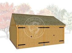 The Lucton™ | Oak Garages & Outbuildings | Radnor Oak