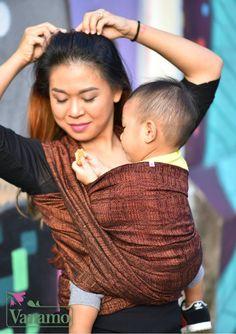 Wear A Baby - Vanamo Woven Wrap Kide Hehku