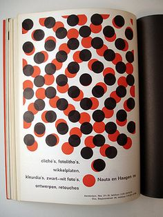 red & black dots