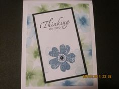 Stampin'Up! card idea | Any Occasion | Designer Series Paper | Flower Shop stamp set | by Stampin'Up! Demonstrator Shirley McKay, The Daily Stamper