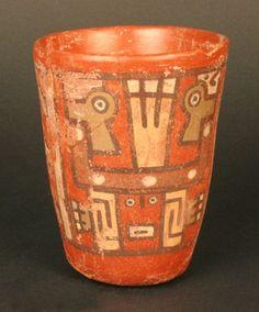 Materiales: Cerámica  Periodo: Medio 700- 1100 d.C.  Medidas: 108mm de alto  Código de pieza: MCHAP 2507  Horizonte Wari-Tiwanaku. Peru, Hispanic Culture, Lake Titicaca, Inca, Past Life, Bolivia, Art And Architecture, Archaeology, Aztec
