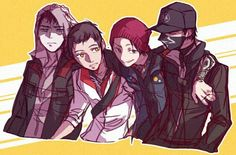 Watch Dogs 1, All Assassin's Creed, Infamous Second Son, Assassins Creed Series, Cartoon Crossovers, Fantasy Dragon, Fan Art, Video Game Characters, Video Game Art