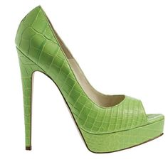 """Brian Atwood """"Wagner"""" Pump... just because I'm obsessed with this green."""