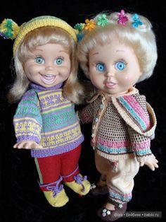 Мои очаровательные Galoob Baby Face Алиса (молд Синтия) и Василиса (Натали) Часть первая 2012 год / Куклы Galoob Baby Face dolls / Бэйбики. Куклы фото. Одежда для кукол