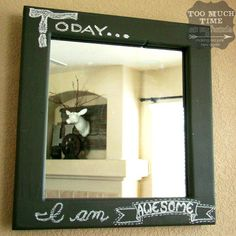 15 Mirror Painting Ideas Mirror Painting Mirror Decor